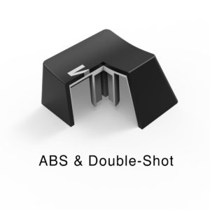 double-shot keycap