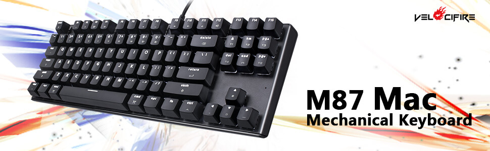 6e3df80dab0 Velocifire never stops to move on, developing and optimizing mechanical  keyboards all the time. Recently, Velocifire is about the release of their  first M87 ...